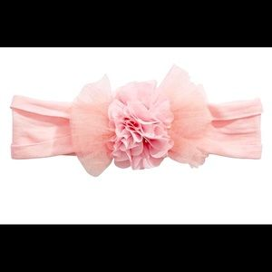 Baby/child's light pink comfort light wrap bow